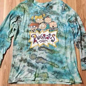 Tie Dye Rugrats Long Sleeve Shirt
